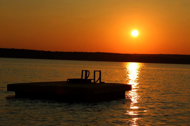 Sunset Portage Lake, MI