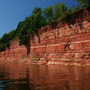 Sandstone Cliffs, Lake Superior, MI