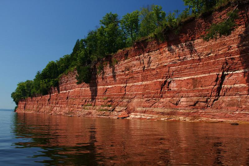 Sandstone Cliffs, Lake Superior, MI