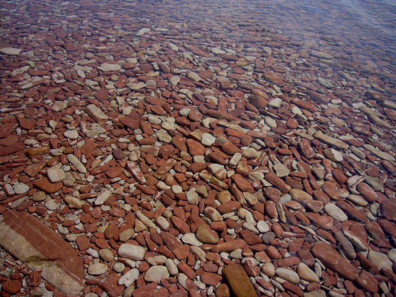 Sandstone Rocks in Lake Superior