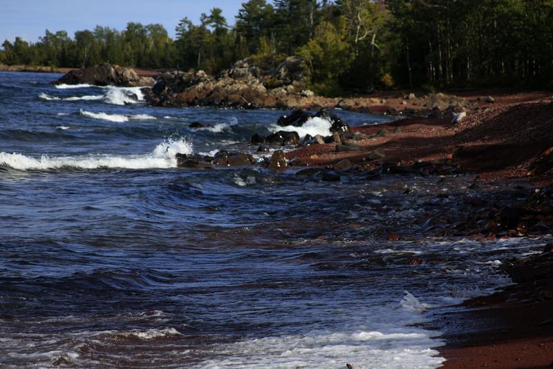 Shoreline Lake Superior near Eagle Harbor