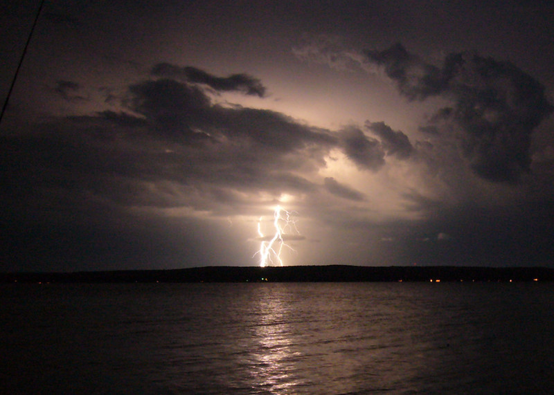 Lightning Storm, Portage Lake, MI