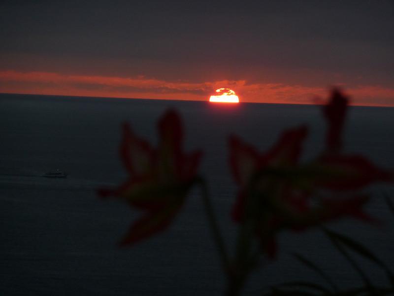 Puerto Valetta Mexico Sunset