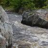 Top of Hellgate Gorge, Dead Diamond River
