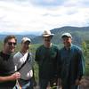 Phil, Bob, Guy and Norm on Diamond Peak.