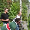 Phil, Klingon and Bob on Diamond Peak.