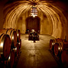 Tasting room in caves at Hanzell winery in Sonoma, CA