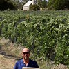 Henschel, Hill of Grace Vineyard with John