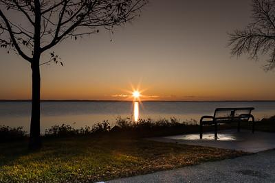 Sunset on Lake Winnebago