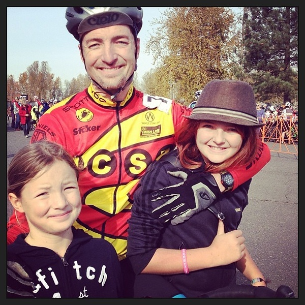 Portland Family Jon-Eleni-Dani after race