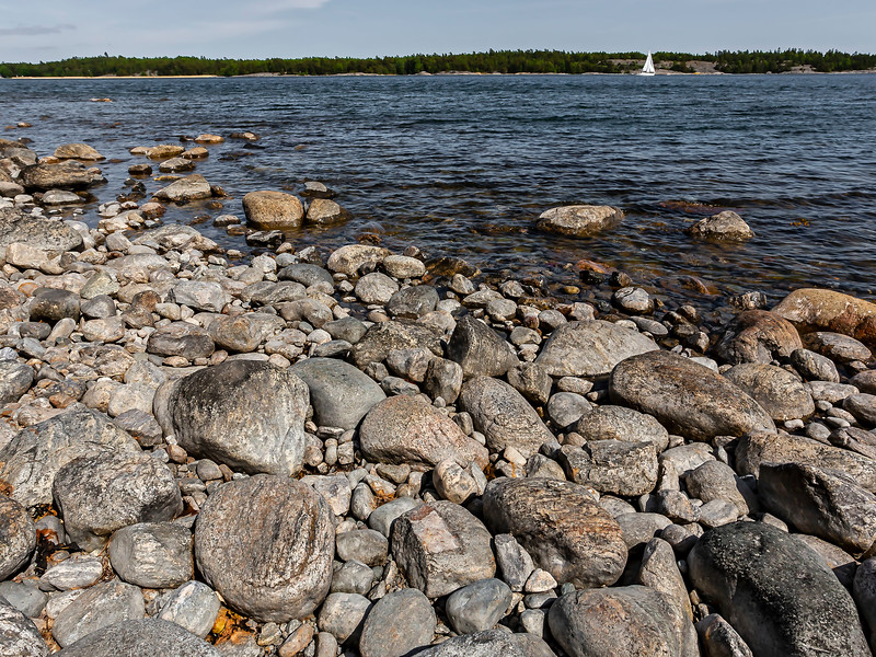 Utmed Strandvägen i Nynäshamn