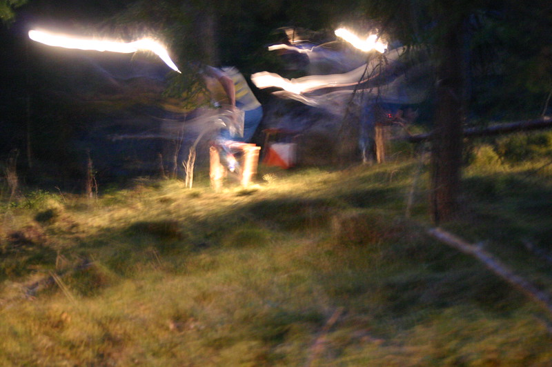 Orienteering in the night