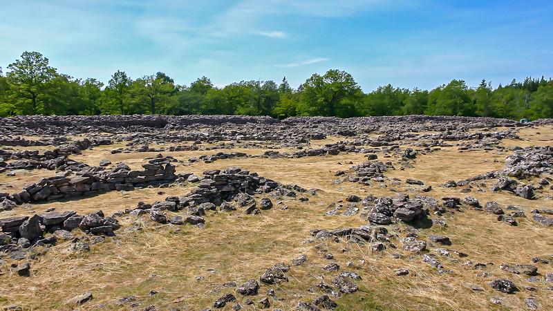 Ruin Ismantorp in Öland
