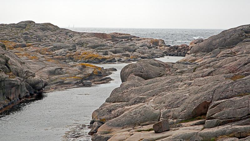 The island Hålö outside of the village Smögen in west coast