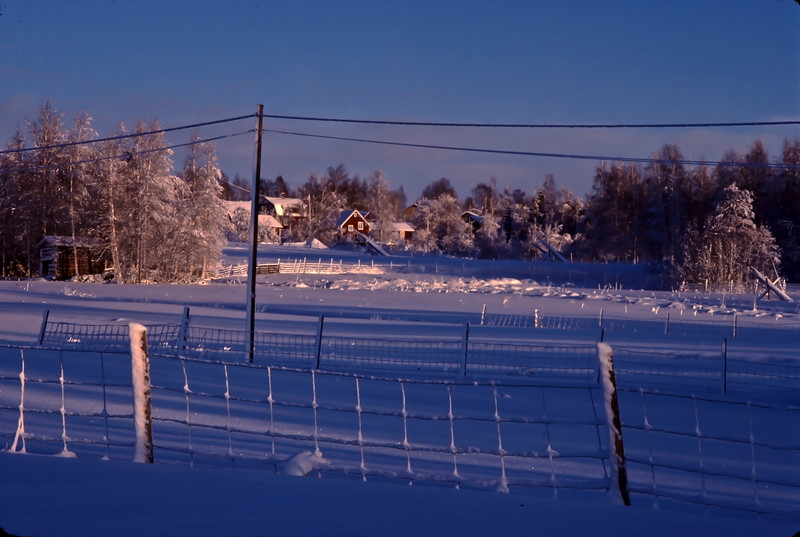 New year in Dalarna 1980-81, Sweden<br /> From slide 1981