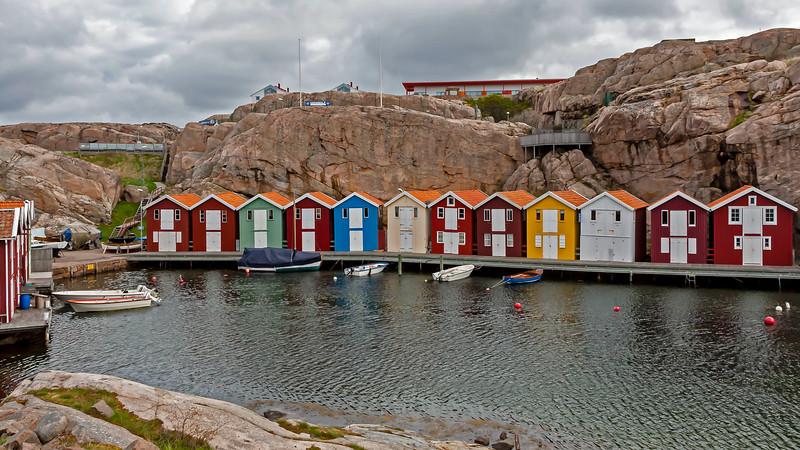 Small harbour in Smögen