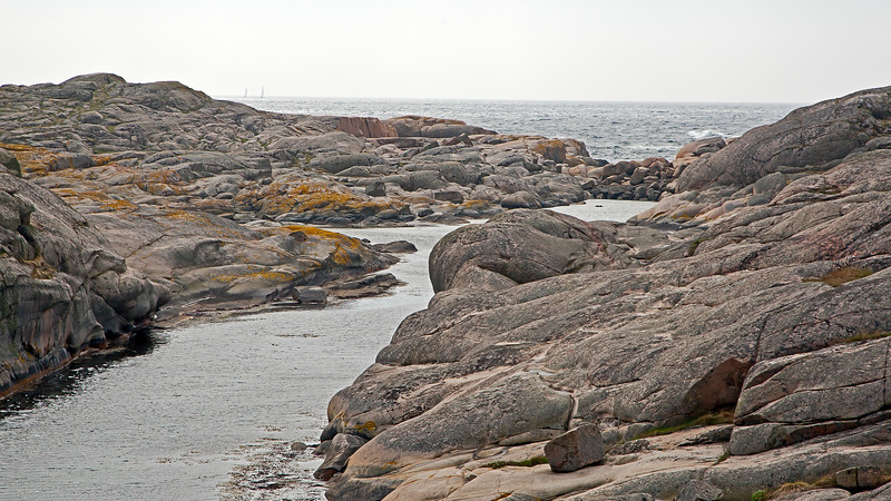 The island Hålö outside of the village Smögen in west coast