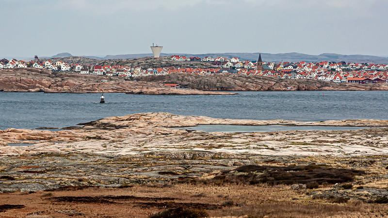 Smögen, captured from lighthouse Hållö.