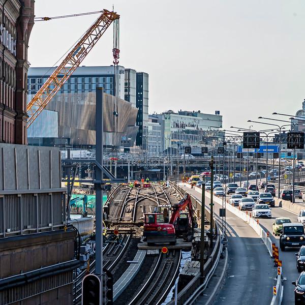 The old bridge 26 June 2020.<br /> Will be taken away in 13 pieces.