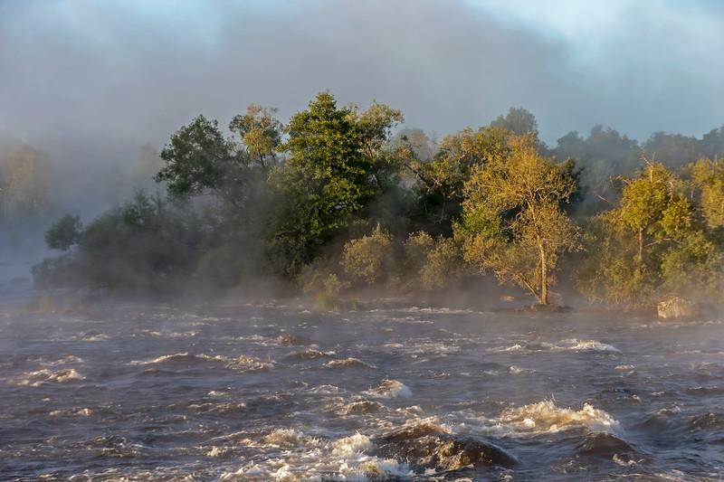 Foggy morning, Dalälven Gysinge