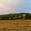 Autumn landscape first days in October