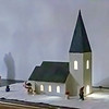 Model of Norberg church, made by my father before 1958