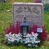 "World Heritage Skogskyrkogården, The grave off the famous fotball player Lennart ""Nacka"" Skoglund."