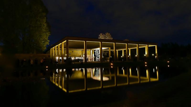 World Heritage Skogskyrkogården, Monumenthallen,  Stockholm Sweden