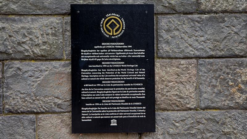 World Heritage Skogskyrkogården inaugurate 1940, Stockholm Sweden