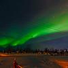 Norrsken i Kiruna