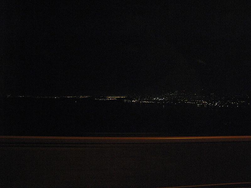 San Francisco from Golden Gate bridge