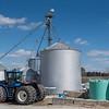 Some of the grain storage bins at D & D Dairy. Fran Ruchalski | Pharos-Tribune