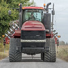 Kyle Forgey drives his tractor and tillage equipment down CR N 500 E near the Cass County-Carroll County line afterfinishing a field after harvest. Large farm equipment like this can take up the entire road when traveling from field to field and drivers need to be aware of their presence. Fran Ruchalski | Pharos-Tribune