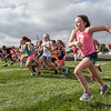 And they're off! The third graders get off to a fast start as they participate in the 38th annual Lewis Cass Fun Run held at Lewis Cass High School on Thursday afternoon. Each elementary school class from kindergarten to fifth grade ran their own race.  Fran Ruchalski | Pharos-Tribune