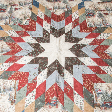 Some of the work of featured quilter at the Carroll County Harvest of Quilts show, Sue Hodge, and her granddaughters at her home. Fran Ruchalski   Pharos-Tribune