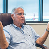 Harold Price reflects his experiences as the flight instructor at the Logansport-Cass County Airport for the last 50 years. Fran Ruchalski | Pharos-Tribune