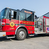 The Walton Community Fire Dept. recently acquired a newer engine to replace their current E2. It was rolled out on Sunday afternoon to transfer equipment from the old engine to the new one. Fran Ruchalski | Pharos-Tribune