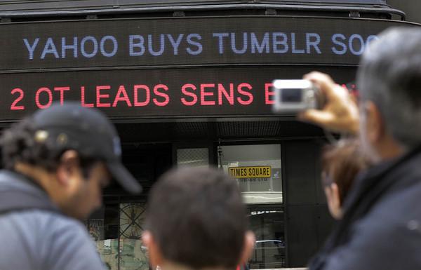 Yahoo Tumblr Acquisition