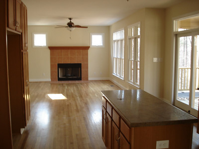 Original, kitche, family room, breakfast table area