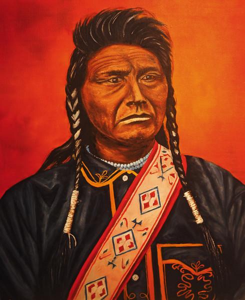Chief Joseph with Sash