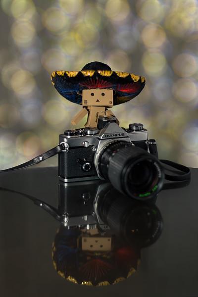 A classy photographer.