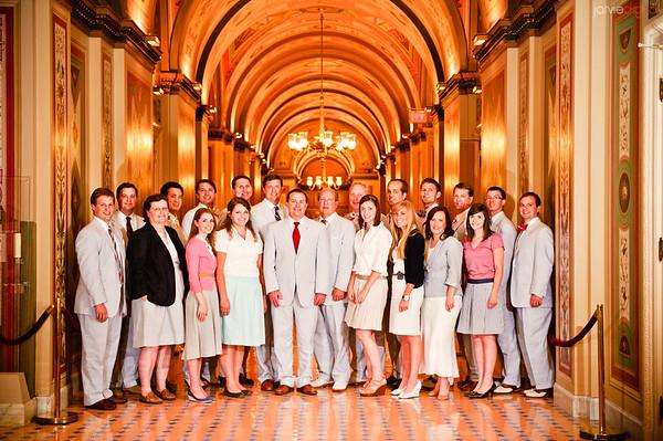 Senators Office (2) Group & Ice Cream Social
