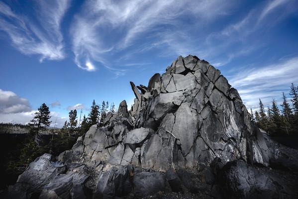 Rocks, Dee Wright Observatory, OR