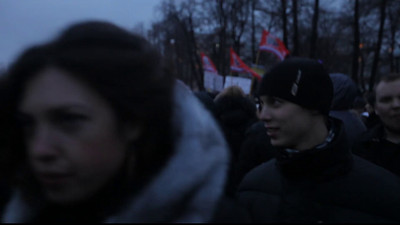 PROTEST - Moscow, Russia (December 10th, 2011)  If this video won't play, try clicking on a lower resolution.  My apologies for the poor video quality.