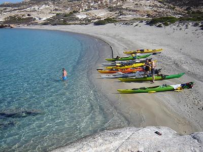 Mersini beach, Poliegos