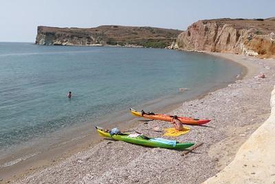 St George Beach, Kimolos