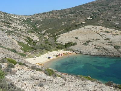 Macropounda Beach, Kimolos