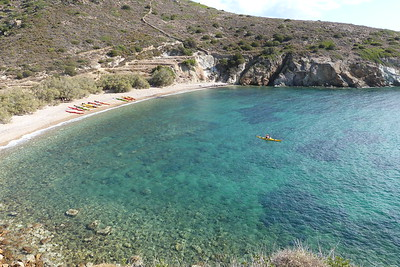 Donkey Beach, West Kimolos