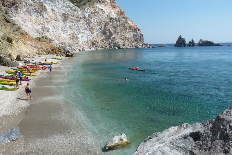 Spathi Beach, Milos