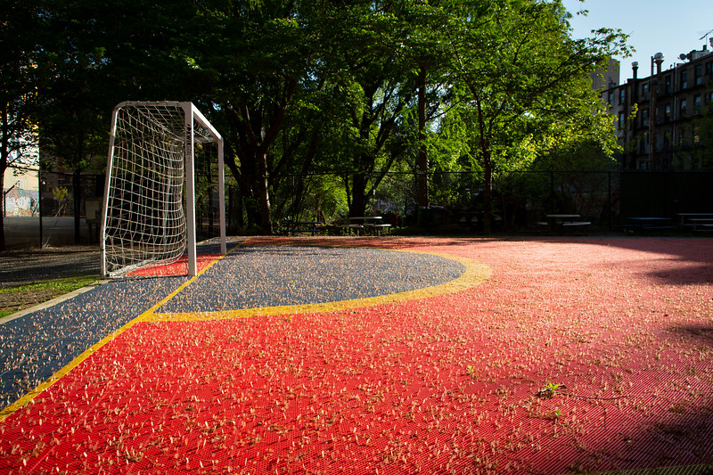 Lower East Side, soccer field